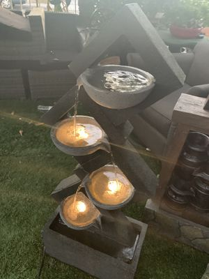 Beautiful fountain with lights for Sale in Bell, CA