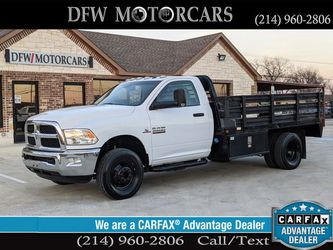 2015 Ram 3500 Regular Cab & Chassis for Sale in Grand Prairie,  TX