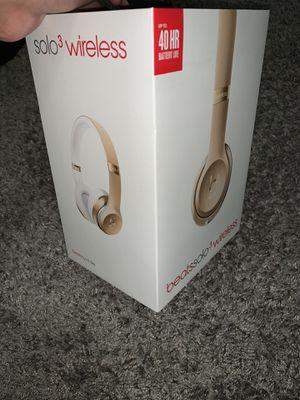 Beats Solo 3 Wireless for Sale in Riverside, CA