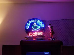 Neon espresso coffee sign for Sale in Ellensburg, WA