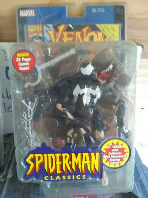 Spider-Man classics Venom for Sale in San Antonio, TX
