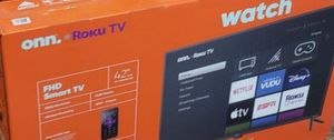 "New in box 42"" Full HD 1080p Roku Tv for Sale in Lincoln Acres, CA"