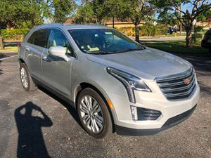 2018 Cadillac XT5 Crossover premium luxury leather nav warranty low miles new tire sport rin for Sale in Miramar, FL