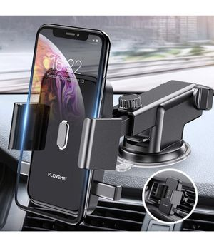 Cell Phone Holder for Car - FLOVEME 360 Rotate Long Arm One Touch Auto Grip Dashboard/Windshield/Air Vent Car Phone Mount for iPhone 11 Pro Xs Max XR for Sale in Los Angeles, CA