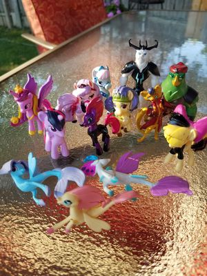 My Little Pony mini figures from movie lot 18 for Sale in Toledo, OH
