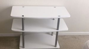 WHITE TV STAND for Sale in Fresno, CA
