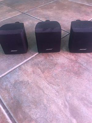 Set of 3 BOSE Speakers! for Sale in Gilbert, AZ