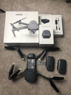 DJI Mavic Pro foldable drone for Sale in Needham, MA
