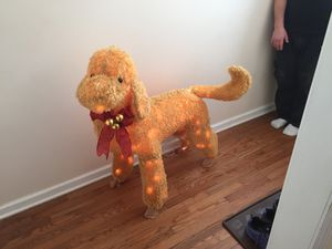 """44"""" X 41"""" Christmas dog. Lights up. for Sale in Endicott, NY"""