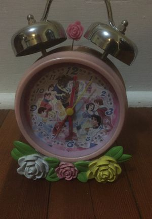 Disney Princess Clock with alarm for Sale in Sumner, WA