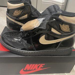 Jordan 1 Retro High Gold Black Size 8 for Sale in Carson, CA
