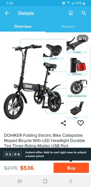 Dohiker,, Electric Bicycles, new for Sale in Biscayne Park, FL