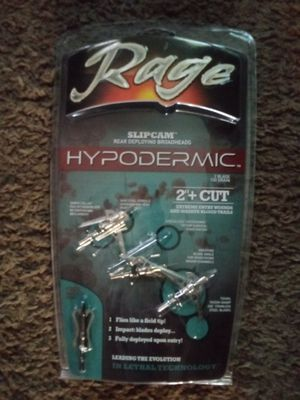 Rage Hypodermic Broadhead for Sale in Hannibal, MO
