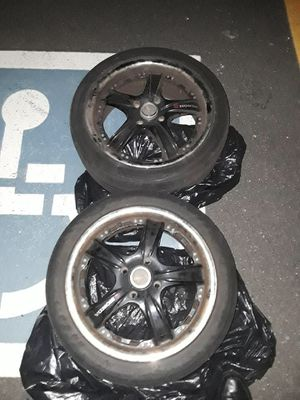 "17"" Rims and Tires (set of 2) for Sale in Boston, MA"