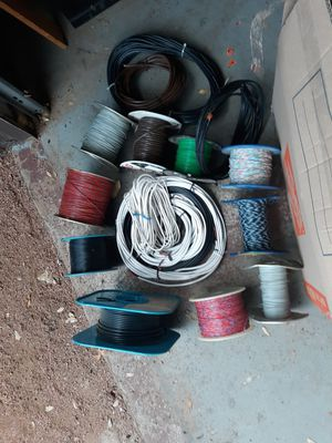 Spool of assorted wire (lot) for Sale in Payson, AZ