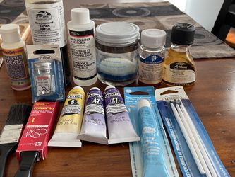 Oil Painting Supplies-near Covingtom for Sale in Maple Valley,  WA