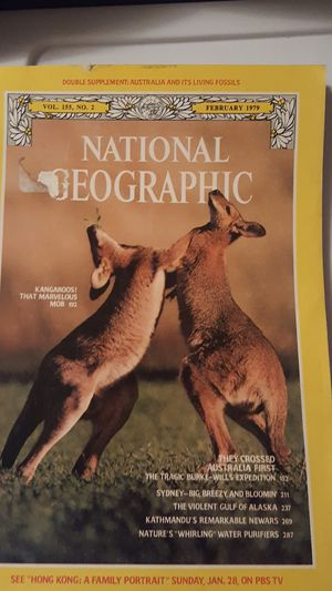 🌺 National Geographic Vol. 155, No. 2 February 1979 for Sale in Dillwyn, VA