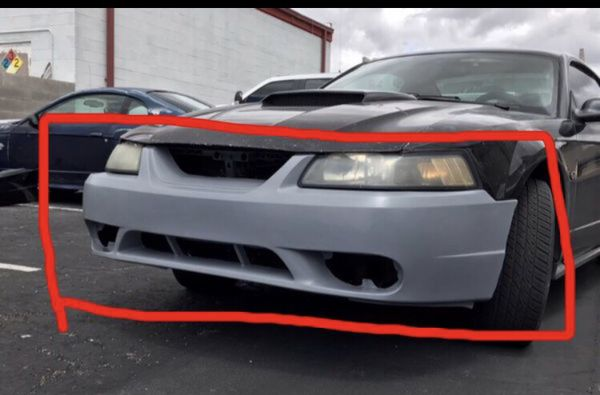 1999 2001 Mustang Cobra front bumper cover FRP new edge ...