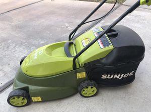 lawn mower sunjoe for Sale in Las Vegas, NV
