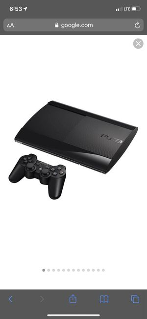 Sony PlayStation 3 PS3 Console Super Slim with Wireless Controller for Sale in Chicago, IL
