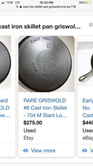 Cast iron pans for Sale in Lisbon, CT