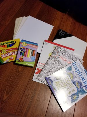 Back to school art supplies bundle for Sale in Centreville, VA