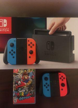 Nintendo Switch + Super Mario Odyssey for Sale in Nashville, TN