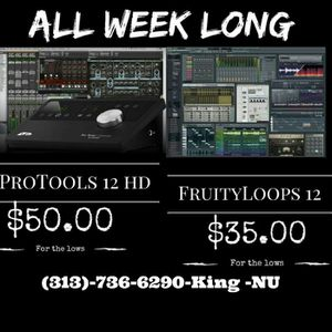 Pro tools 12 HD for Sale in Detroit, MI