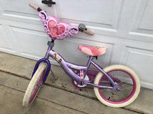 Disney Princess 16 Bike for Sale in Huntersville, NC