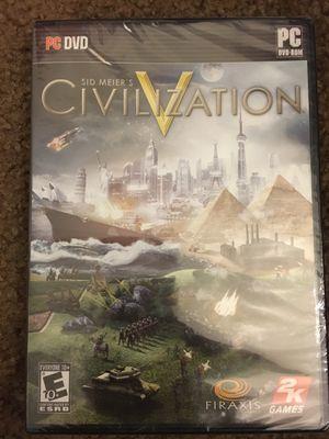 Sid Meier's Civilization V PC DVD for Sale in Northwest Plaza, MO