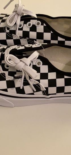 Authentic Checkered Black&White Vans for Sale in Houston,  TX