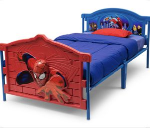 Twin Size Spider Man Bed for Sale in North Las Vegas, NV