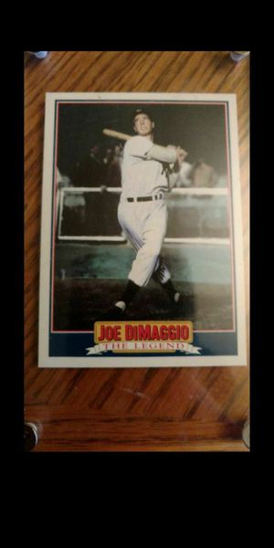 Joe DiMaggio baseball card for Sale in Lake Forest Park, WA