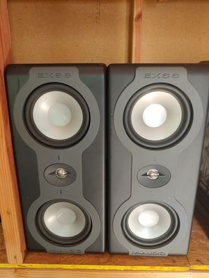M-audio ex66 studio monitor speakers for Sale in Santa Clara, CA