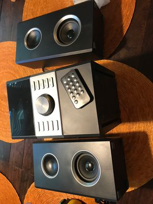 Home Music system with CD player am/fm radio GPX HC425B for Sale in Bethesda, MD