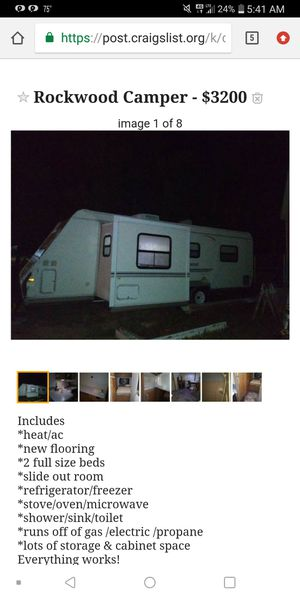 RockWood Camper for Sale in Navarre, FL