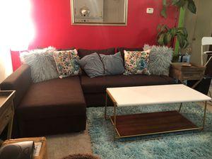 Couch/Sectional/Guest bed for Sale in Charlottesville, VA