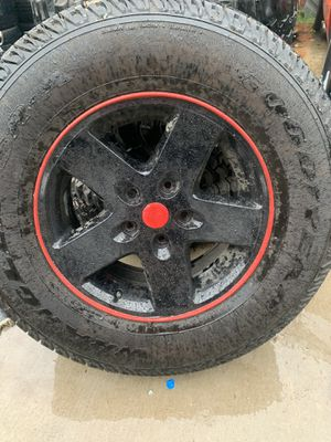 Jeep wheels for Sale in Duncanville, TX