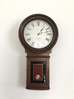 E HOWARD & CO SCHOOL HOUSE WALL CLOCK. ANTIQUE COLLECTIBLE. for Sale in Boca Raton, FL
