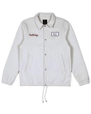 Jordan Union coaches jacket bone size L for Sale in Clovis, CA