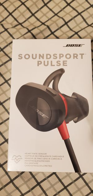 Bose wireless soundsport pulse for Sale in San Jose, CA