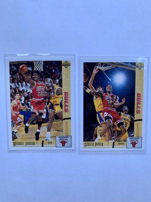 🔥🏀 MICHAEL JORDAN & SCOTTIE PIPPEN CARDS NBA for Sale in Hendersonville, TN