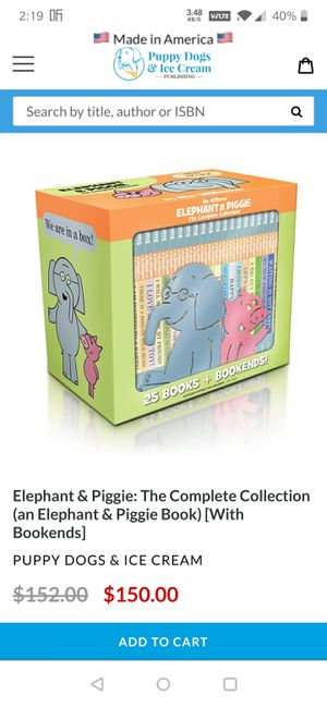 Elephant &Piggie for Sale in Baton Rouge, LA