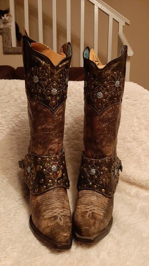 Girls cowboy boots Used only once for Sale in Arroyo Grande, CA