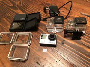 GoPro Hero 4 Black with extras for Sale in Los Angeles, CA