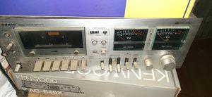 Onkyo stero cassette tape deck vintage for Sale in Manteca, CA
