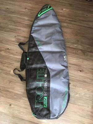 """5'4"""" shortboard surfboard bag, used but in good condition for Sale in Encinitas, CA"""