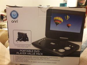 Onn Portable DVD player value pack for Sale in Lake Worth, FL