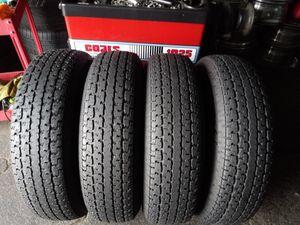 4 trailer tires 235 80 16 FREESTAR RADIAL S/T for Sale in Mableton, GA