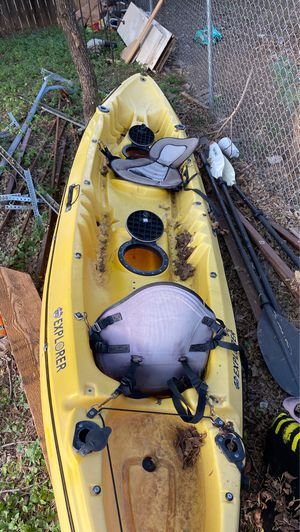 White knuckle explorer two person kayak obo for Sale in Marble Falls, TX